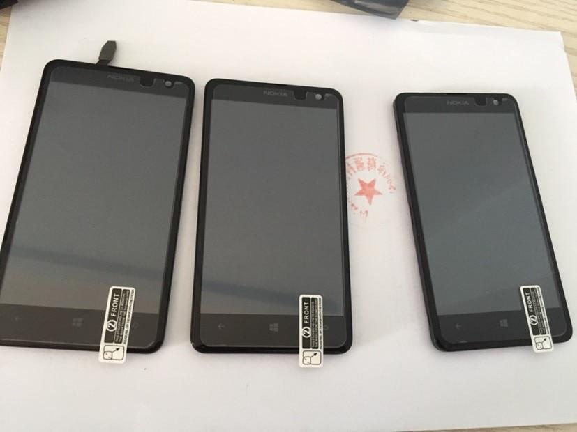 Original Für Nokia Lumia 625 625H TFT LCD Display Montage mit Rahmen ~ Schwarz Kostenloser versand