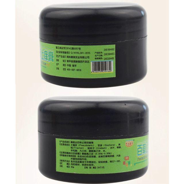 25g Pain Relief Natural Herbal Anti-Itch Cream Eczema Ointment Antibacterial Psoriasis Dermatitis Pruritus Medical Plaster 4