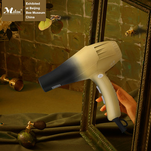 Secador de cabelo profissional para cabeleireiro, secador de cabelo de íon negativo, elétrico, forte vento 220v 2300w milin