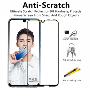 Image 3 - For Huawei Honor 10i Tempered Glass Protective Glas Safety Film Screen Protector On Honor 10 Lite Honer 10i 10 i Light HRY LX1T