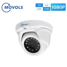Movolsセキュリティカメラ屋外 2MP ahd 1920 × 1080 tvi/cvi/cvbs cctvソニーセンサー防水アナログドームカメラ監視カメラ