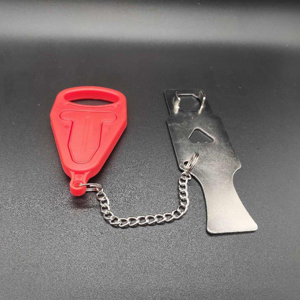 Portable Door Lock Travel Hotel Door Stopper Self-Defense Door lock Anti Theft Hardware Security School Home Lockdown Lock