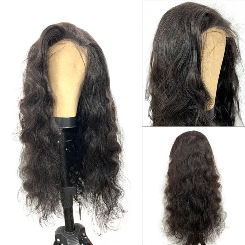 Körper Welle Menschliches Haar Perücken Für Schwarze Frauen Benutzerdefinierte Spitze Verschluss Perücke 13x4 Spitze Frontal Perücke 150% Pre gezupft Haaransatz Mit Baby Haar