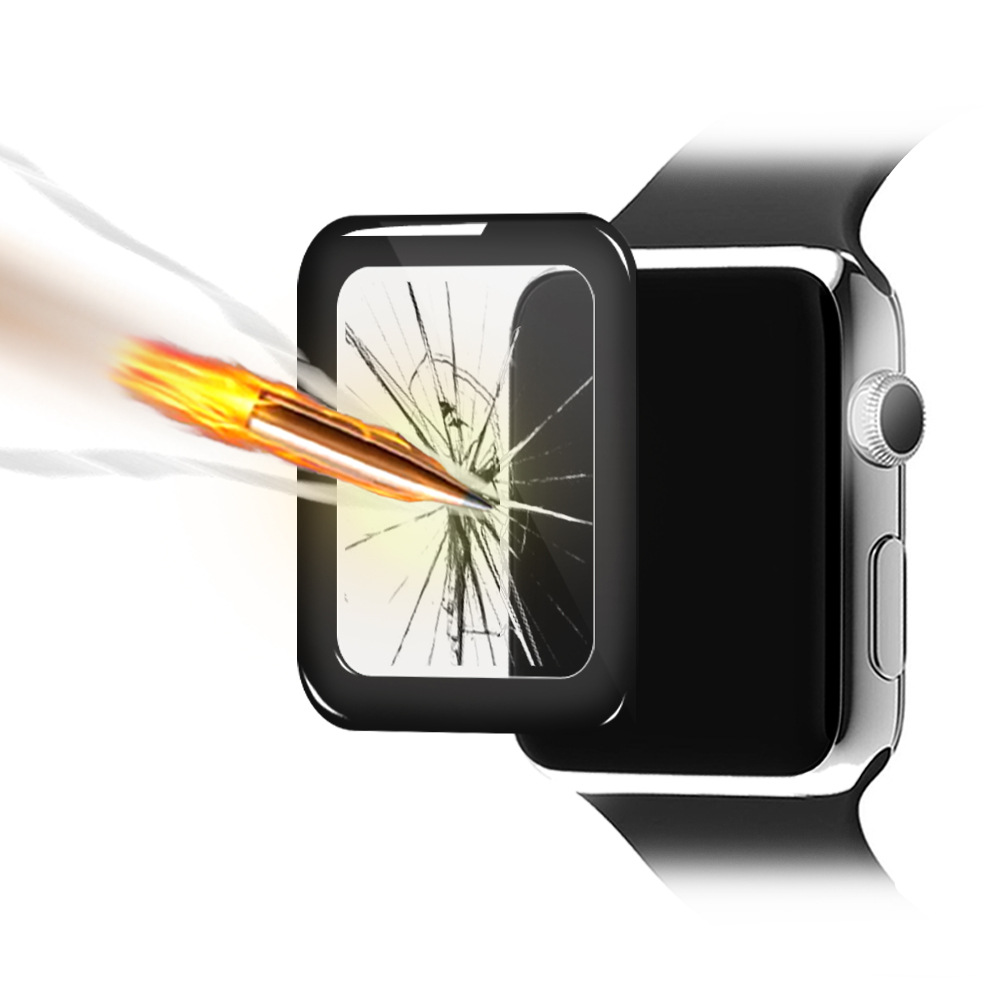 3D tempered glass screen protector for apple watch  (1)