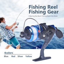 Saltwater Fighter High Quality 5.1:1 Electroplate Spinning Fishing Reel Carp Fishing Wheel Spinning Reel for Sea Fishing #H917 daiwa mission cs 5 3 1 spinning fishing reel 2000s 2500s 3000s 4000s 4bb saltwater freshwater carp feeder wheel with air rotor
