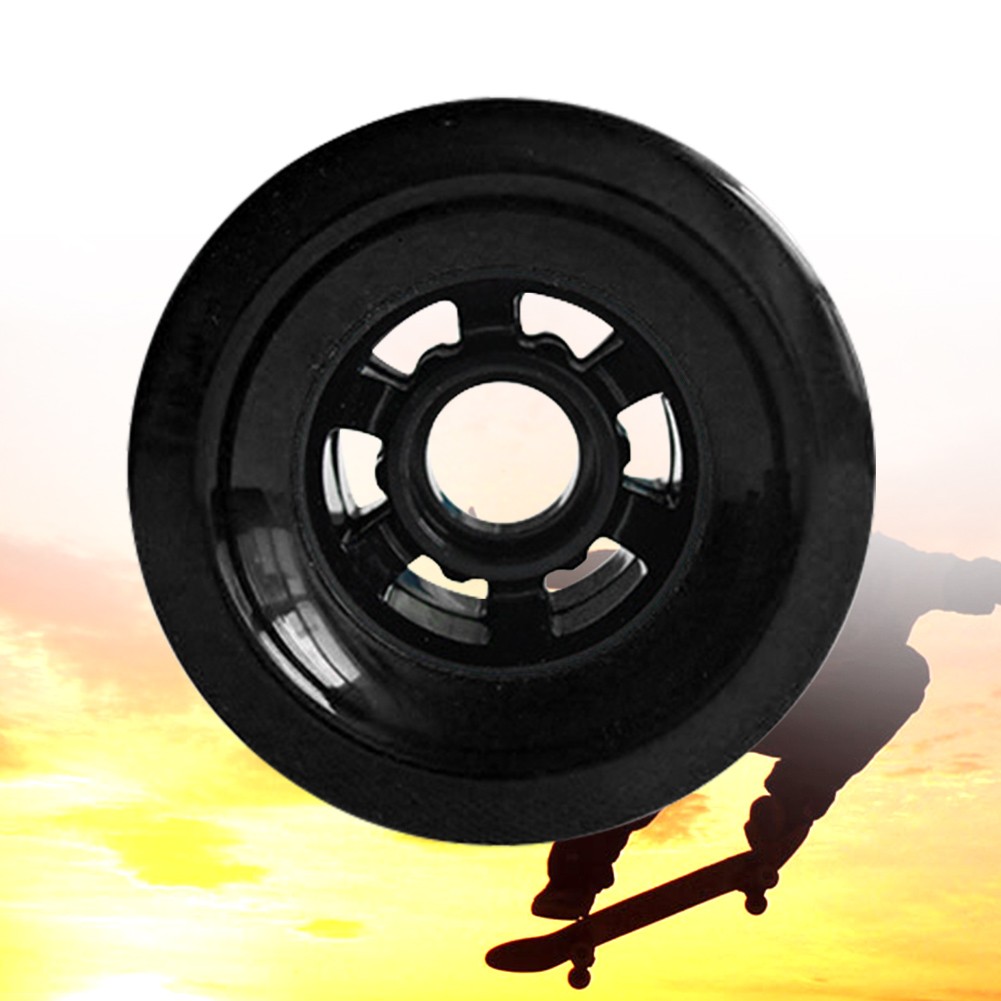 Soft Accessories Electric Skateboard Wheel Practical Sliding Sports Smooth Easy Install Professional PU Outdoor High Speed