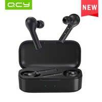 QCY T5 Auricolari Bluetooth Senza Fili V5.0 Touch Control Stereo HD parlare con 380mAh batteria