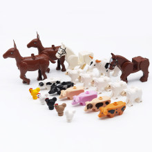 *Small Sheep* DIY Animals enlighten block bricks,Compatible With Assembles Particles