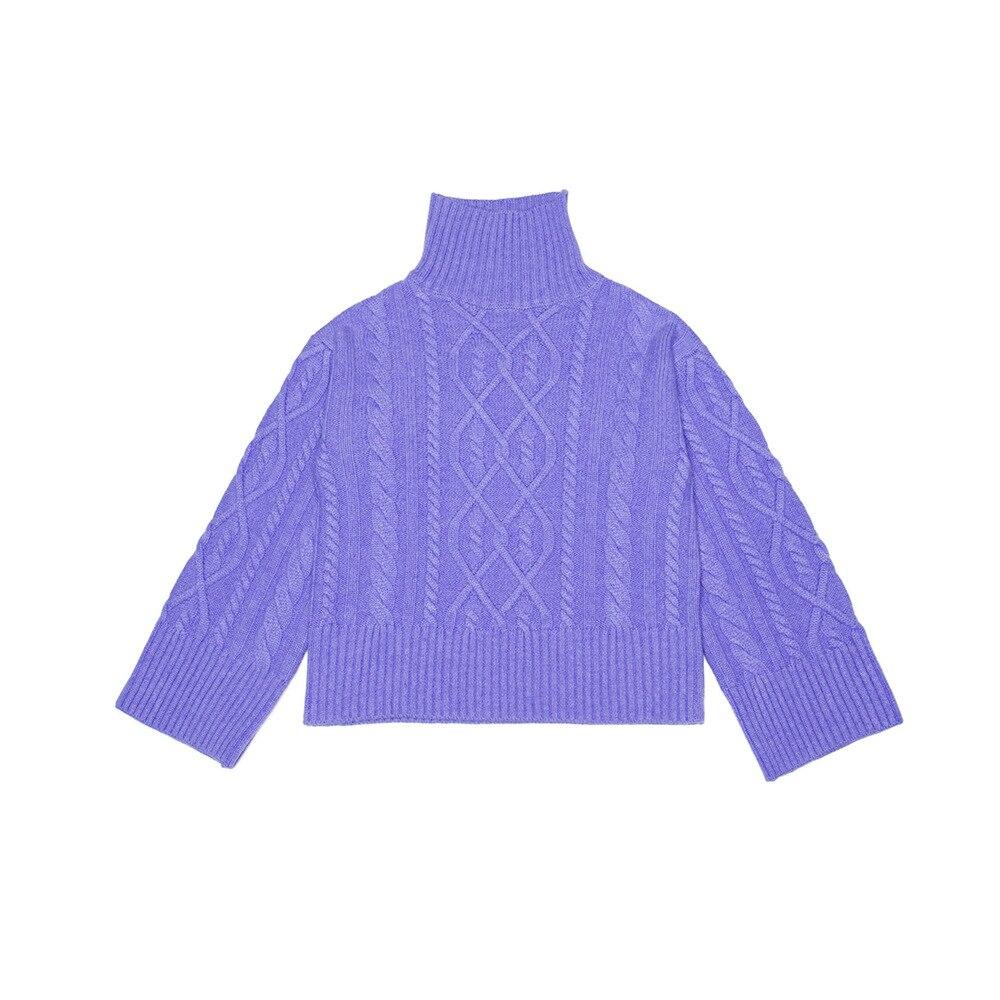 Hot DealsÎTurtleneck Pullover Clothing Knit Sweater Oversized Designer Red Women Luxury Cute Cashmere
