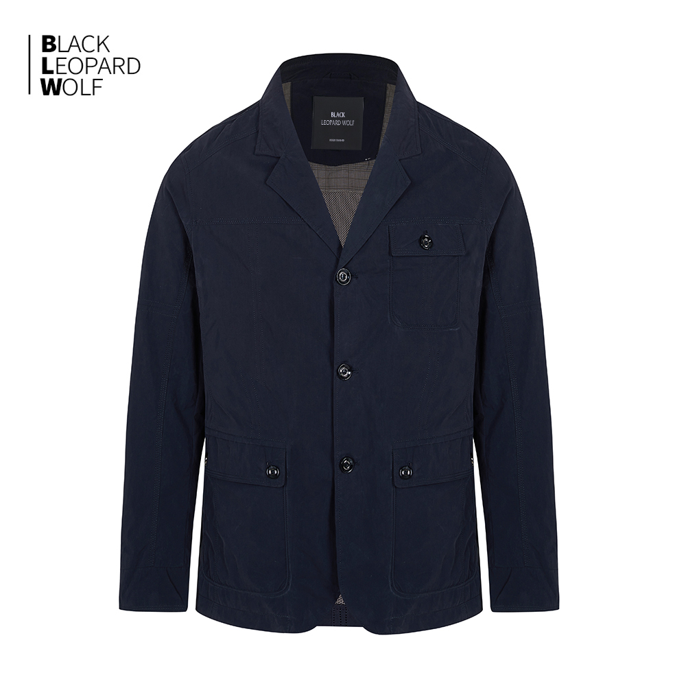 Blackleopardwolf man's clothing 2020 Spring and summer new jacket for man luxury blazer men Casual thin coat mens jackets 12083 1