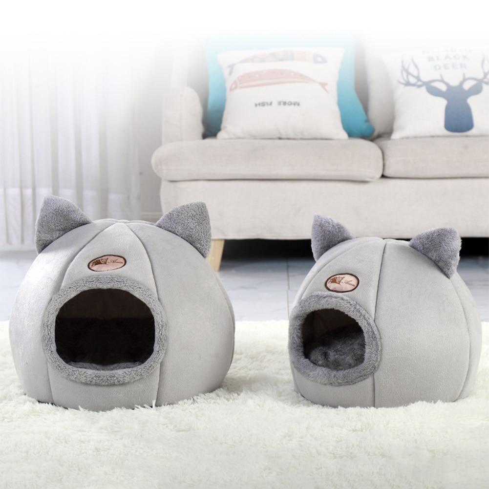 Soft Comfortable Kennel Animal Puppy Pet Dog Winter Warm Nest Cave Sleeping Mat Winter Warm Sleeping Bag Puppy