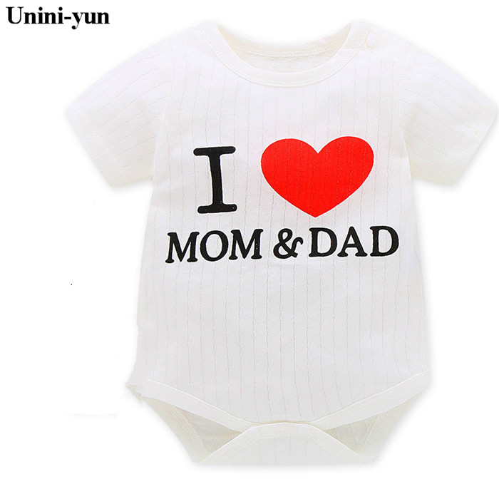 1 Pieces 2016 Baby Boys Girls Clothes Cute Infant Clothes Cotton Newborn Baby Rompers Baby Coveralls Spring Clothing Set