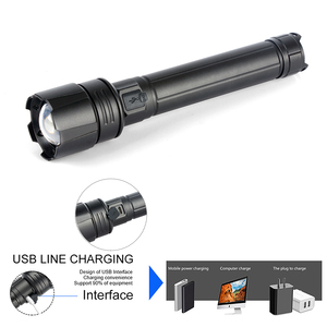 Image 3 - XHP90.2 Super Powerful Xlamp LED Flashlight LED Torch USB XHP70.2 Lamp Zoom Tactical Torch 18650 26650 Rechargeable Battey light