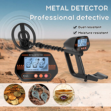 MD830 Underground Metal Detector Pinpointer Portable Gold Treasure Detector Depth Metal Detecting Tool Finder for Adults Kids
