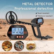 Detector de Metales subterráneo MD830 Pinpointer, portátil, tesoro de oro, profundidad, herramienta de detección de metales, buscador para adultos y niños