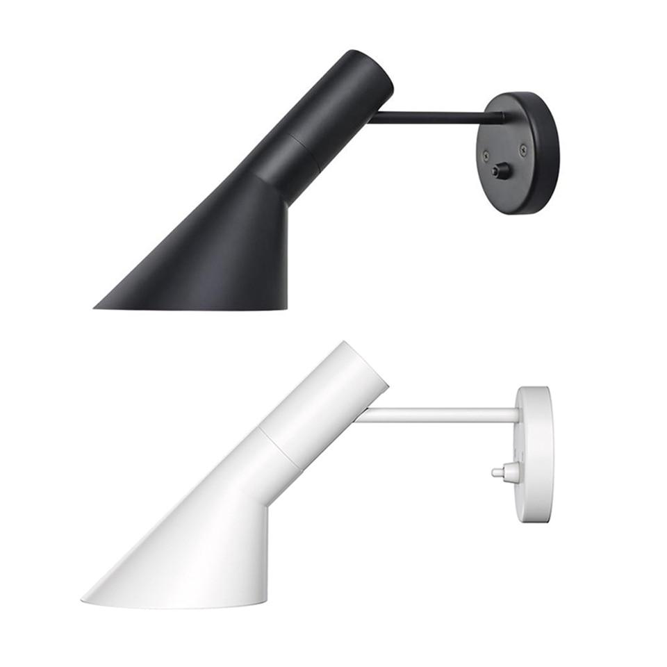 Скандинавский светодиодный настенный светильник Лофт, современный дизайн, черно-белый настенный светильник, лампа реплики, подвесной светильник, настенный светильник s для украшения дома,