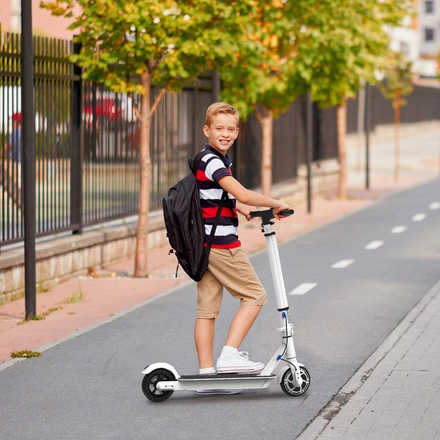 """Hiboy S2 Lite Electric Scooter 6.5"""" Solid Tires 10.6 Miles Long Range 13 MPH Folding Kick-Start Boost Scooters for Teens Adults 6"""