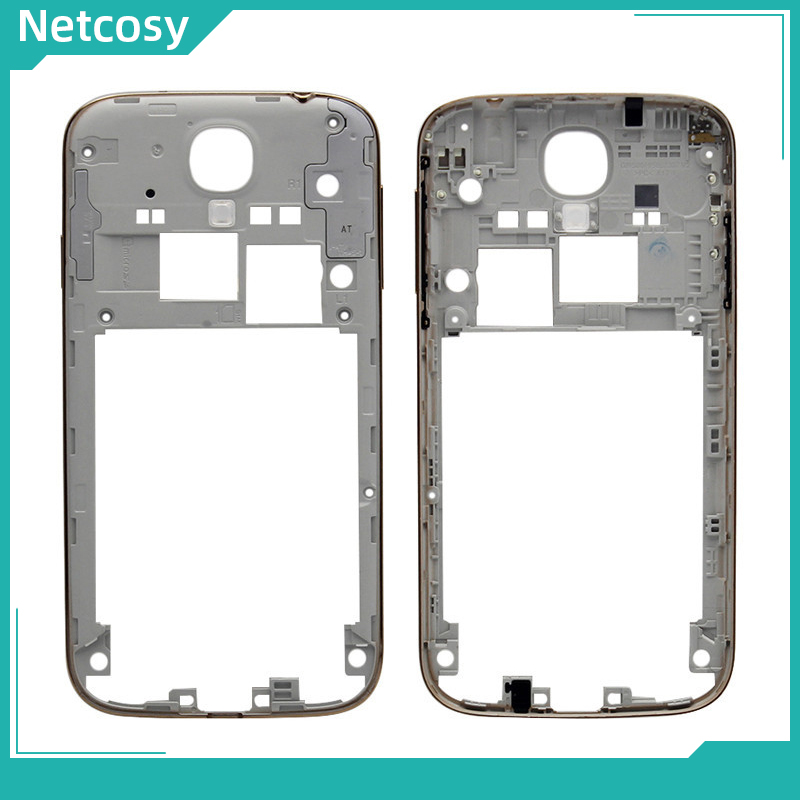 Netcosy Middle Mid Plate Frame Bezel Housing Cover For <font><b>Samsung</b></font> <font><b>Galaxy</b></font> <font><b>S4</b></font> I9500 Mid <font><b>Board</b></font> Replacemenrt For <font><b>Samsung</b></font> <font><b>S4</b></font> I9500 image