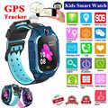子供の Gps スマートウォッチ抗ロスト安全 GPS トラッカー Sos コール GSM 防水スマートウォッチ電話アンドロイド Ios 子供