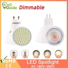Dimmable Led Lamp MR16 E27 GU10 E14 MR11 LED Spotlight 6W 7W 8W 220V AC12V Spot LED Bulb Light Lampada Bombillas cold warm white стоимость