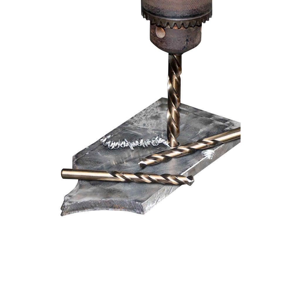 Allsome M42 hss ツイストドリルビットセット 3 エッジヘッド 8% 高コバルトステンレススチール木製金属掘削