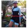 20 cores das mulheres longo mangas compridas skinssuit go pro equipe de ciclismo macacão pro equipe irmã triathlon roadbike mtb roupas verão macaquinho ciclismo feminino manga longa roupas com frete gratis macacao 15