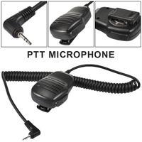 מכשיר הקשר כתף אינטרקום מיקרופון אטים לגשם מרחוק רמקול מיקרופון מיקרופון PTT לקבלת Talkabout מכשיר הקשר שני הדרך רדיו 1pin (2)