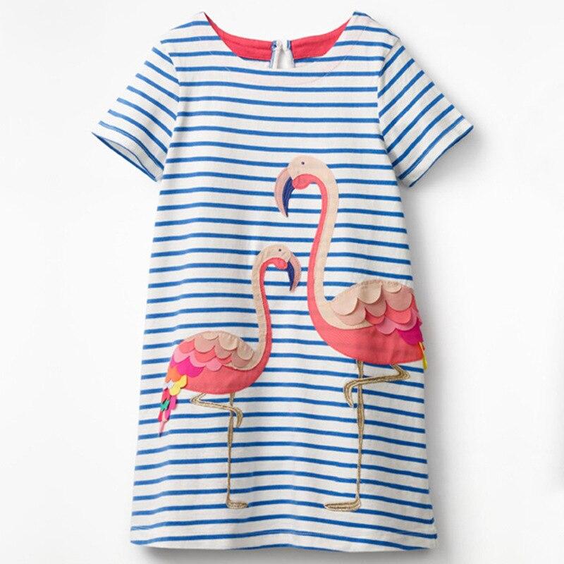 VIKITA 4-8Y Dress for Girls Baby Girl Children Tutu Dresses Princess Party Dresses Casual Vestidos Kids Girls Clothes SH5868 5