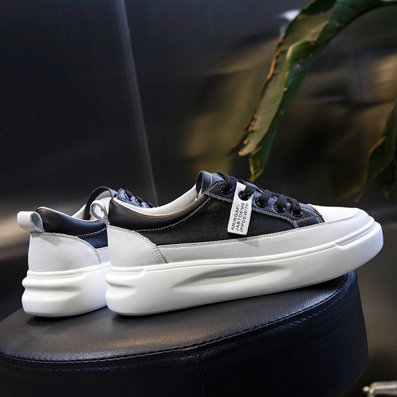 Big Size Women Sneakers Autumn Leather Light White Sneaker Female Platform Vulcanized Shoes Spring Casual Breathable Sports Shoe 3