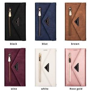 Image 5 - Envelope Flip Leather Wallet Phone Case For Samsung S21 Ultra Note 20 10 + 9 8 A71 A51 A70 S20 S10 S9 S8 Plus S10 Lite S7 Edge