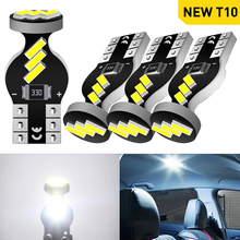 A Pack W5W T10 194 168 Led Bulb Car Interior Light Lamp For Skoda Octavia A5 A7 2 1 Rapid Fabia Superb Yeti Felicia RS Armrest