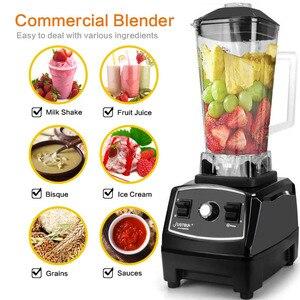 Image 3 - BPA free 2200W Heavy Duty Blender do zastosowań komercyjnych profesjonalny mieszalnik robot kuchenny japonia ostrze sokowirówka Ice Smoothie Machine