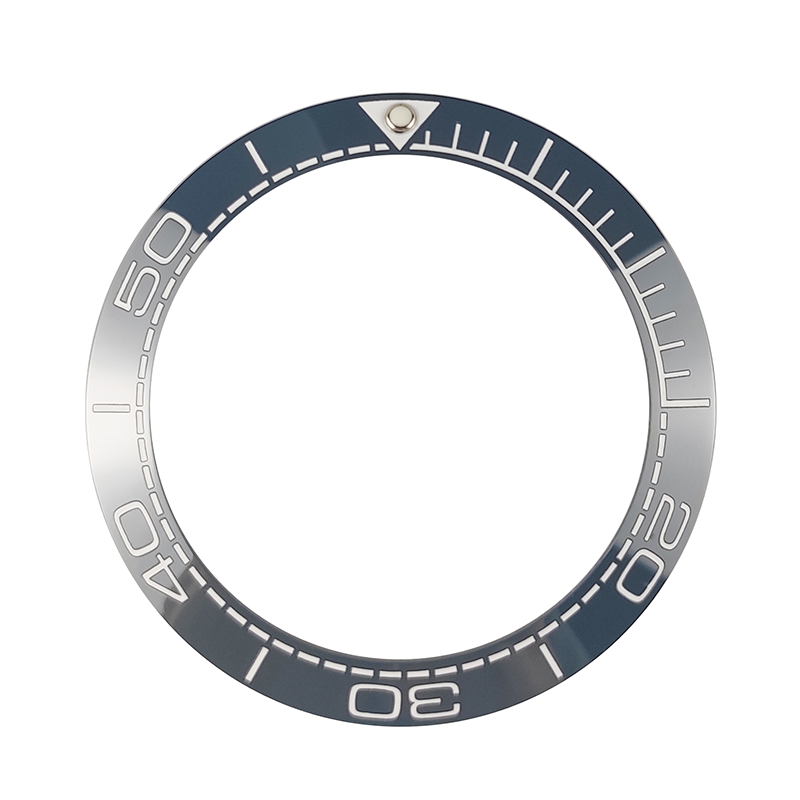 New 41.5mm High Quality Ceramic Bezel Insert For Men's Diver Watch Watches Replace Accessories BLUE/BLACK