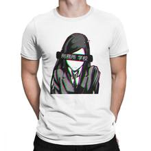 Men Prison School Sad Japanese T Shirts Aesthetic Loli Cute Sexy T-Shirt Fashion Short Sleeves Clothes 100% Cotton Tee Shirt(China)
