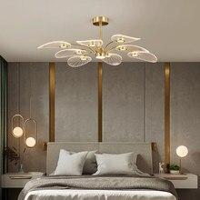 2021 Fuying moderne nordique luxe lustre LED trois couleurs gradation salon salle à manger hôtel chambre maison éclairage intérieur