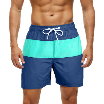 ESCATCH Mens Swimwear Swim Shorts Trunks Beach Board Shorts Swimming Pants Swimsuits Mens Running Sports Surffing Shorts 17
