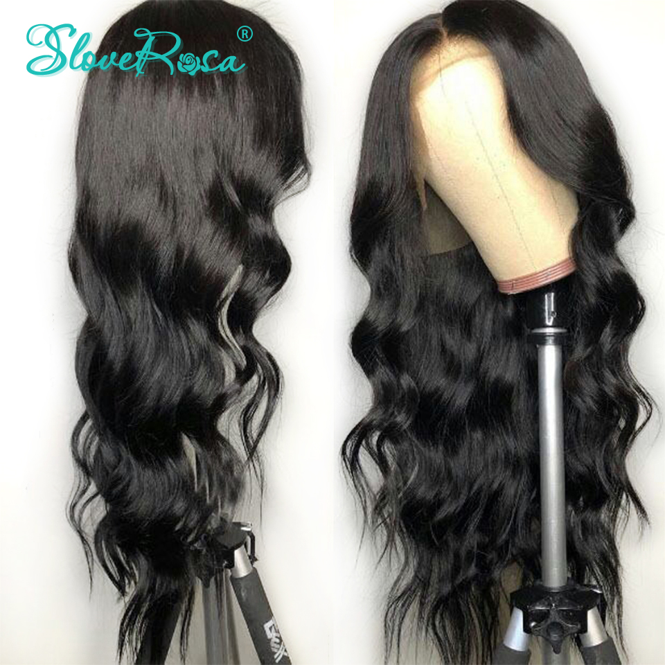 Body Wave Brazilian Remy Hair Lace Front Human Hair Wigs For Black Women Pre Plucked Bleached