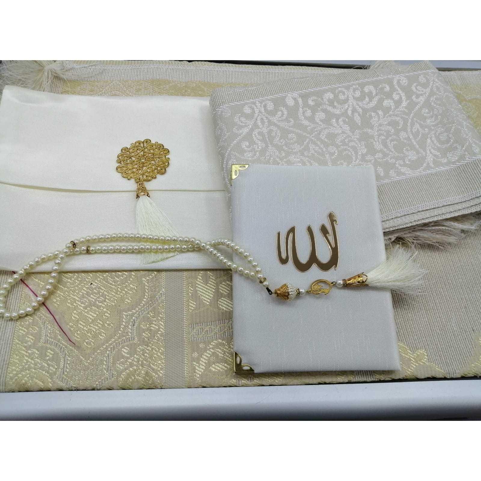 Mevlüt Gift Package (Velvet Pouch, Prayer Mat, Yasin-i Sheriff V