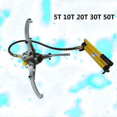 15 tons 2-3 claw universal split hydraulic puller,portable combination puller,manual hydraulic tool,with manual hydraulic pump