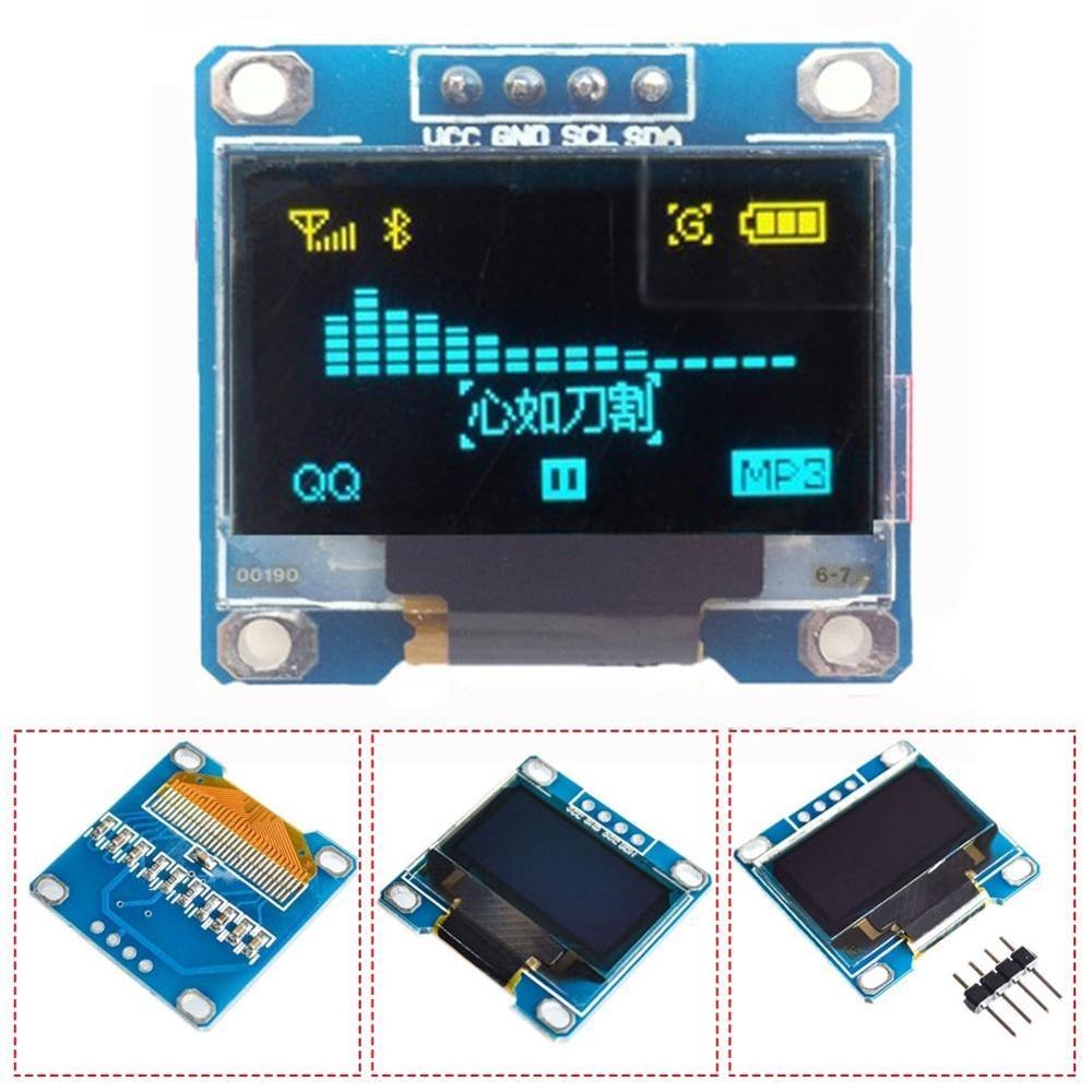 1pc 128*64 Digital LED Display Module For 51 Series Board STM32 Driver Pack Series CSR Four 2 / Serial MSP430 IC