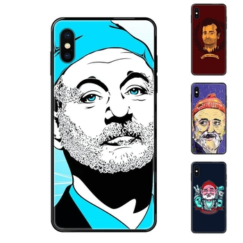 Cheapen Famous Actor Bill Murray Black Soft TPU Screen Protector For Xiaomi Mi Note A1 A2 A3 5 5s 6 8 9 10 SE Lite Pro Ultra image