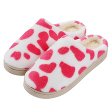 Cartoon Winter Home Women Slippers Warm Spot Pattern Cotton Shoes Warm Slippers Indoor Loves Couple Floor Shoes Bedroom TUX63 spot loves his dad