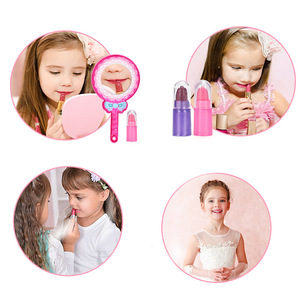 Image 5 - Girls Make Up Toy Set Pretend Play Princess Makeup Beauty Safety Non toxic Box Kit Toys for Girls Dressing Cosmetic Kids Gifts