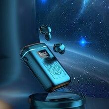 Sunny eanre auriculares TWS con Bluetooth 5,1, dispositivo de audio intrauditivo, de gran capacidad, con altavoz, Compartimiento de carga
