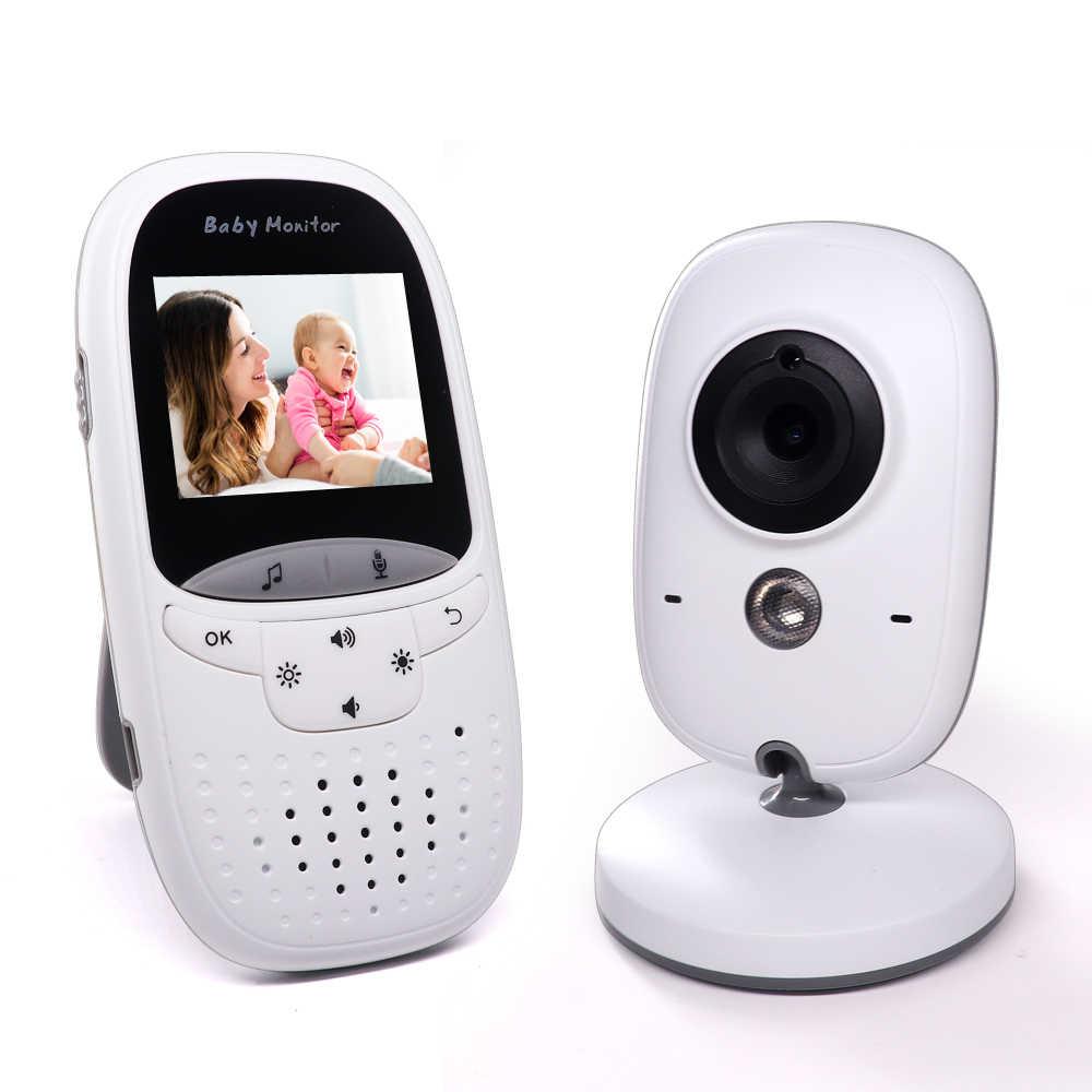 Junniao Không Dây 2.0 Inch Màu Video Bé Màn Hình Camera An Ninh Em Bé Nanny Liên Lạc Nội Bộ Tầm Nhìn Ban Đêm Giám Sát Nhiệt Độ