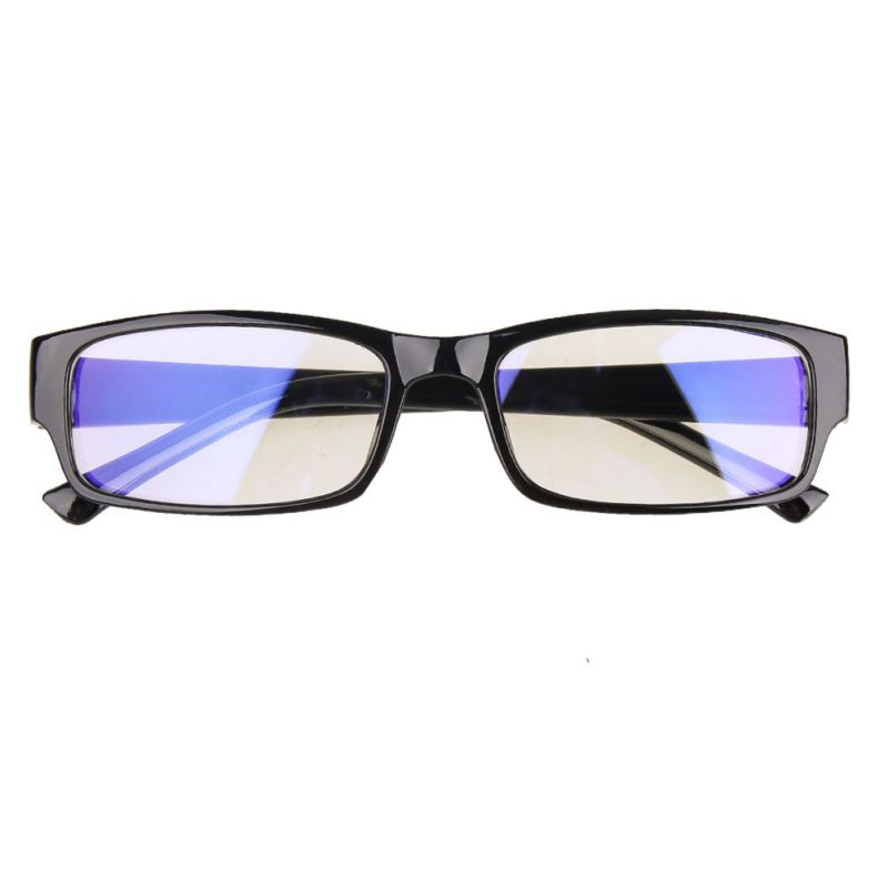 Anti-eye Fatigue Computer Glasses Protection Blue  Square Lock Fashion Protective Goggles Anti-blue Lightning Radiation Glasses