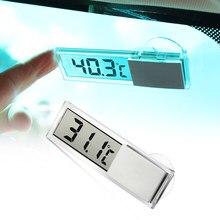 Lcd termômetro digital do carro inteligente número de exibição temperatura para lexus is es gs gx ls500h nx rx lx lc rc 200 250 570