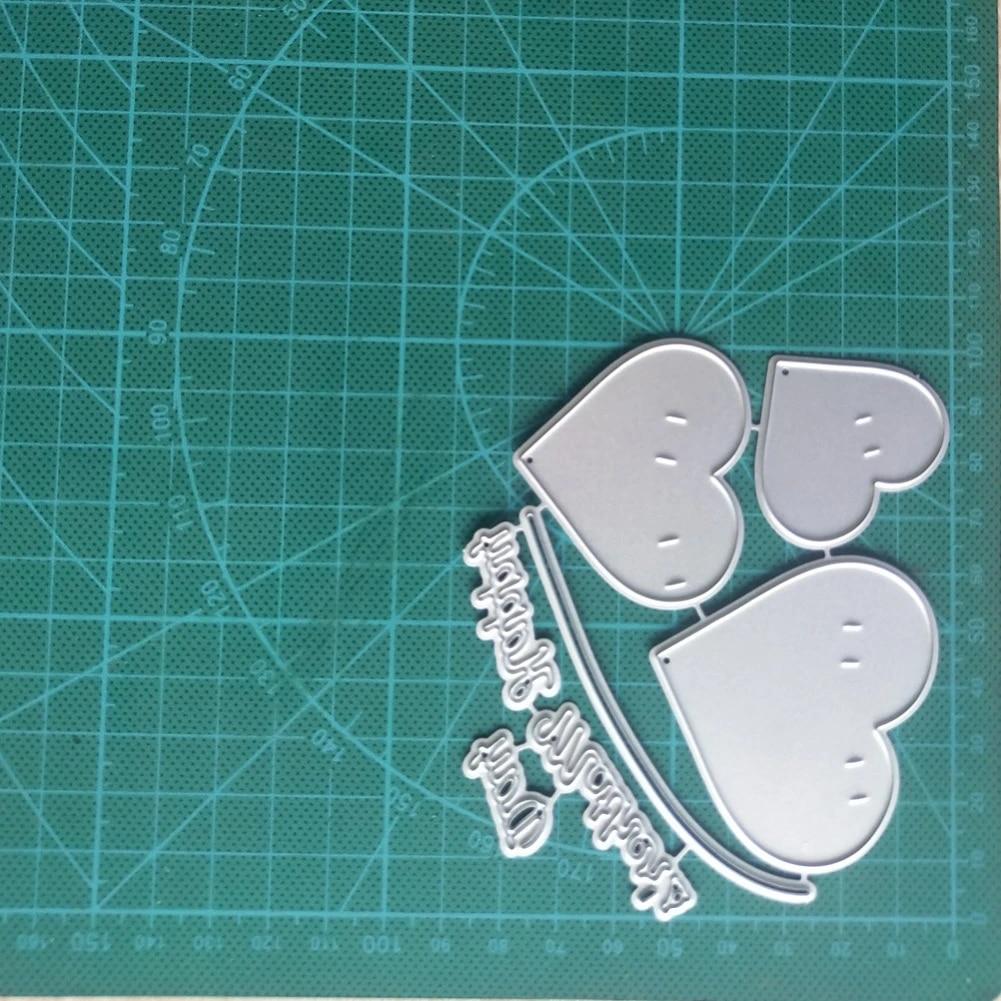 Cutting Dies CONSTR,Metal Embossing Stencil,High-rise City Cutting Dies DIY Scrapbook Paper Cards Decor Punch Stencil Mold Silver