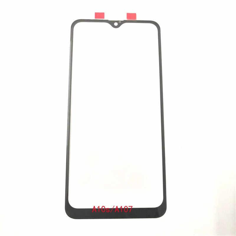 Yeni Samsung A10s A20s A30s A107 A207 A307 LCD ön dış Lens ön dış cam Lens kapağı yedek parçalar