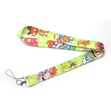 Rugratg Gowild Lanyard neck straps id badges phone holders necklace accessories for keys webbing ribbon E0511